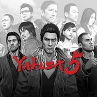 Yakuza 5 Cover