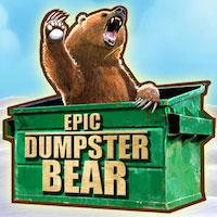 Epic Dumpster Bear Review