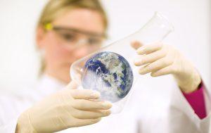 Evonik, Chemie, Nachhaltigkeit, Weltkugel, Erde
