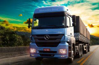Mercedes apresenta maior participação em veículos comerciais