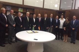 Câmara Brasil-Alemanha estreita relações com João Doria