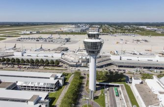 Aeroporto de Munique recebe prêmio e bate recorde de receita