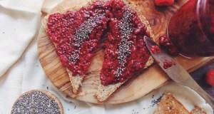 Raspberry Vanilla Chia Seed Jam   Breakfast Criminals