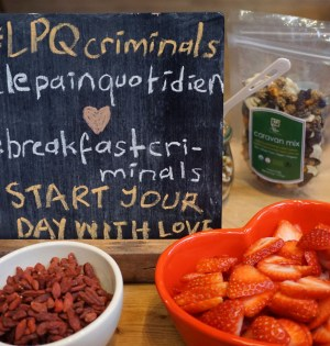 Breakfast Criminals Master Class Le Pain Quotidien NYC
