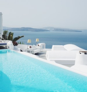Review of Katikies Hotel, Santorini | Breakfast Criminals