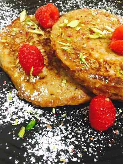 Gulkand French Toast
