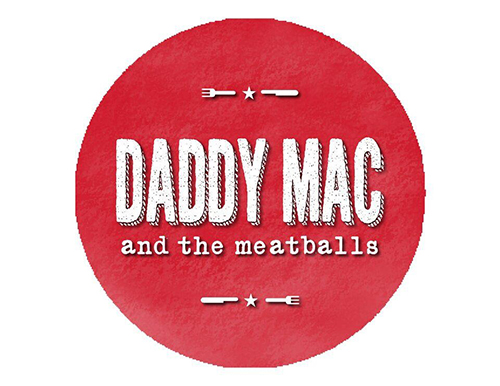 Daddy Mac & the Meatballs Logo Design