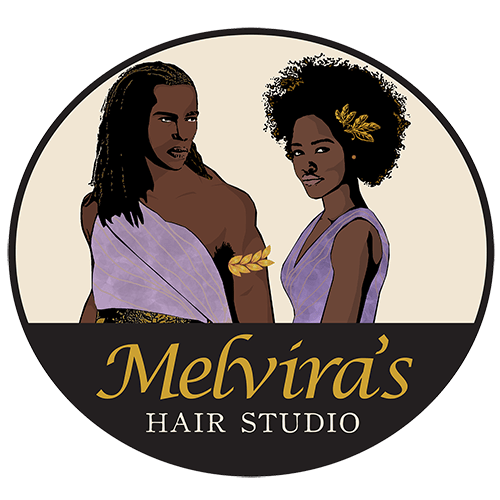 Melviras Hair Studio Logo