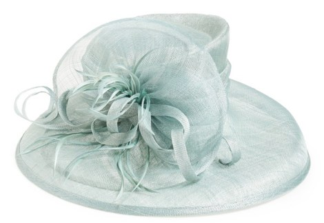 August Hat Wide Brim Derby Hat $128.00