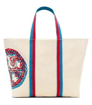 Beach 3D Logo Large Zip Tote $136.50