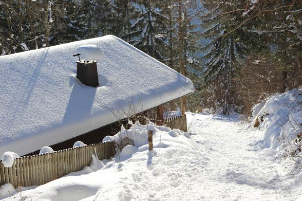 Trotz reichlich Schnees kam man gut voran