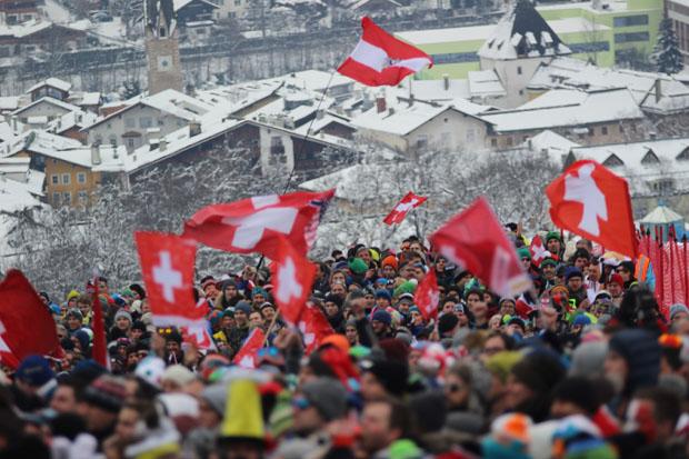 Unter den Zuschauern waren auffällig viele Schweizer