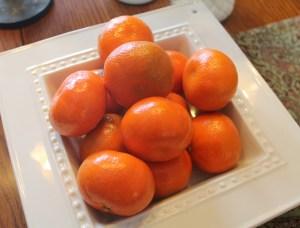 Hospitality oranges