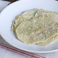 Tortilla wraps - basisrecept