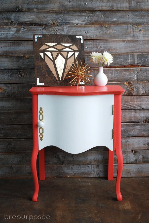 Full Bloom Table with Fabric