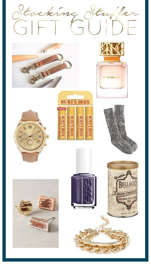 Stocking Stuffers Gift Guide and Giveaway
