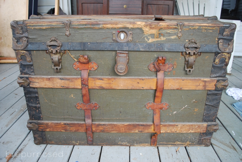 Storage Trunk Makeover