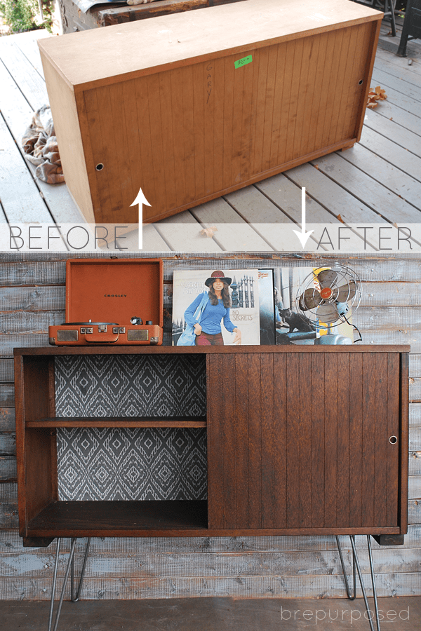 MCM Buffet Makeover With Hairpin Legs