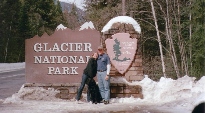 Brett and Laura's First Trip to Glacier National Park (2002)