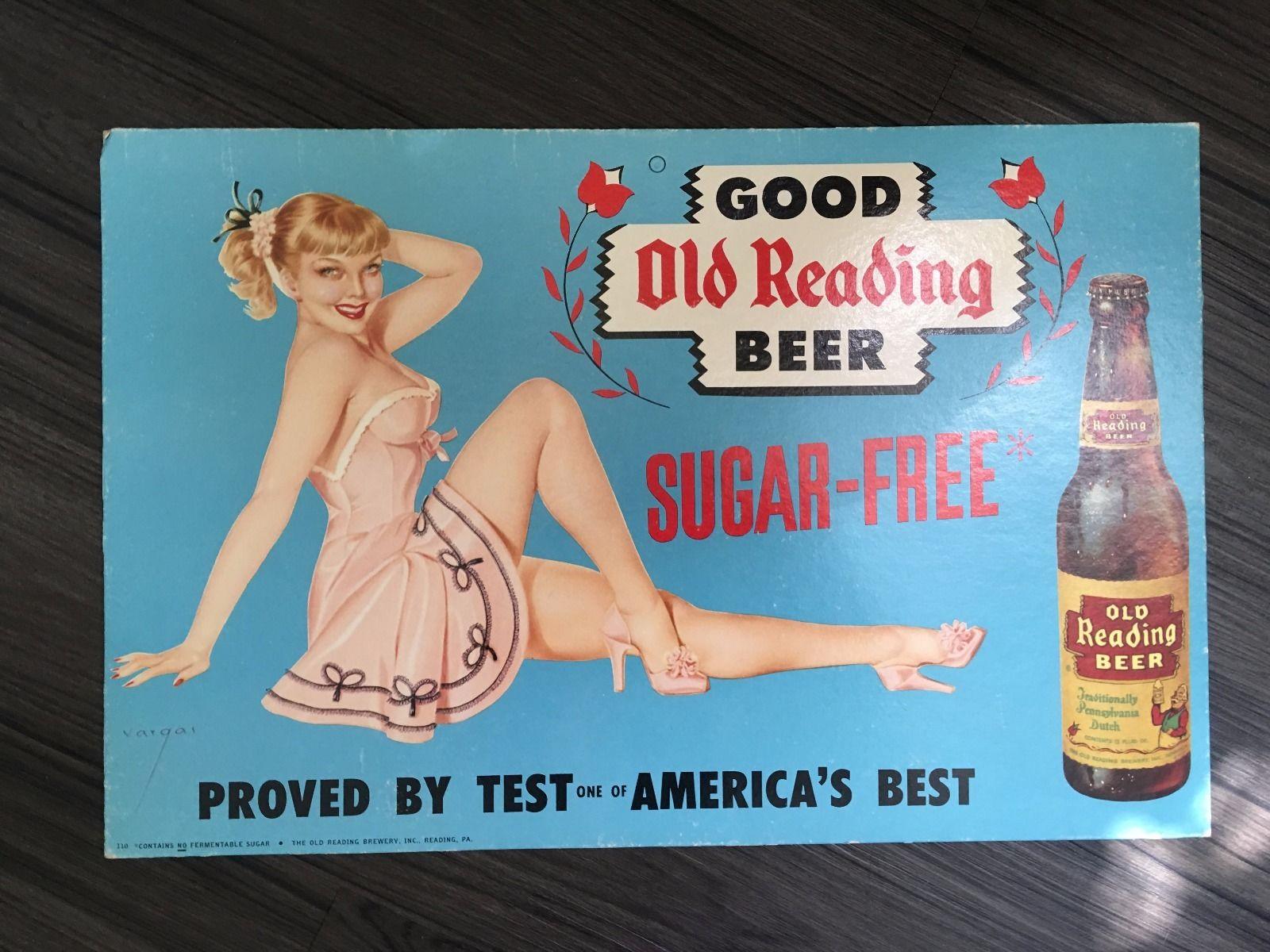 Old Reading Beer Vargas Pin-Ups