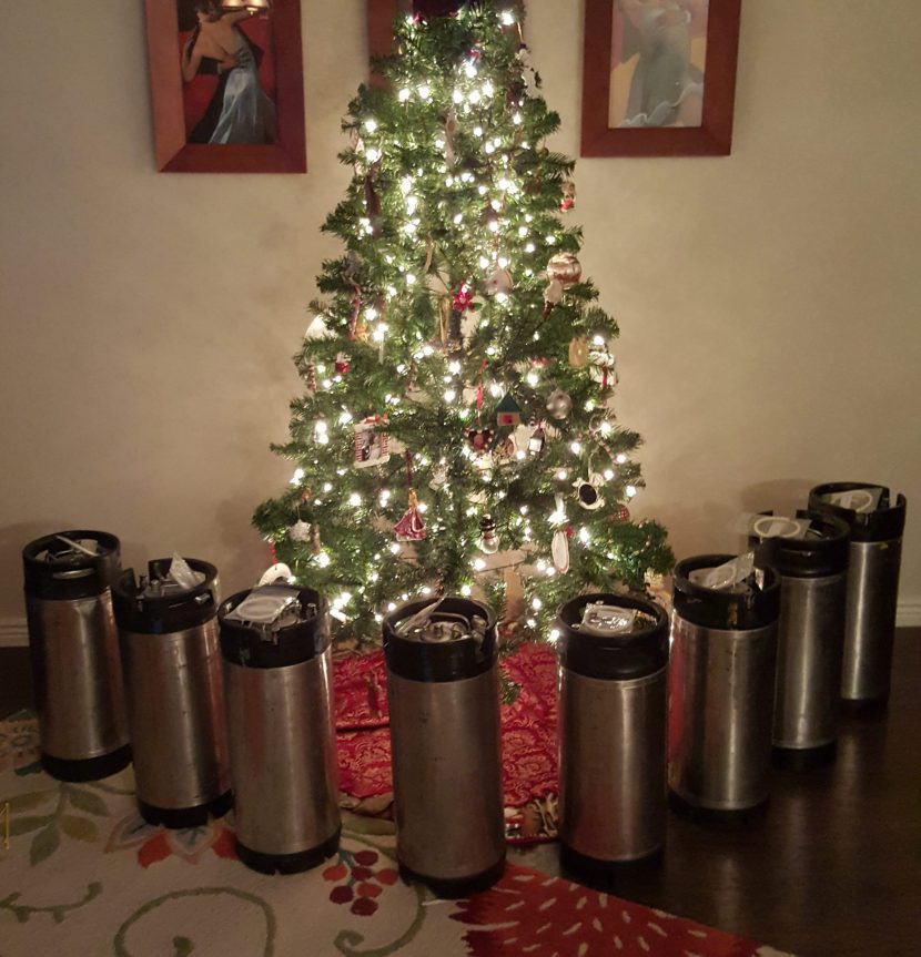 Pin Lock Kegs For Christmas!!!!