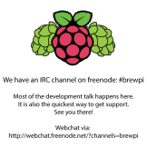 Link to webchat: http://webchat.freenode.net/?channels=brewpi