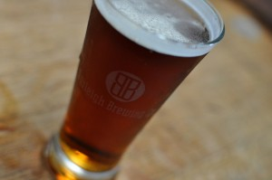 Image of a pot glass of Burleigh beer