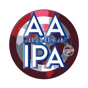 AA Session IPA label