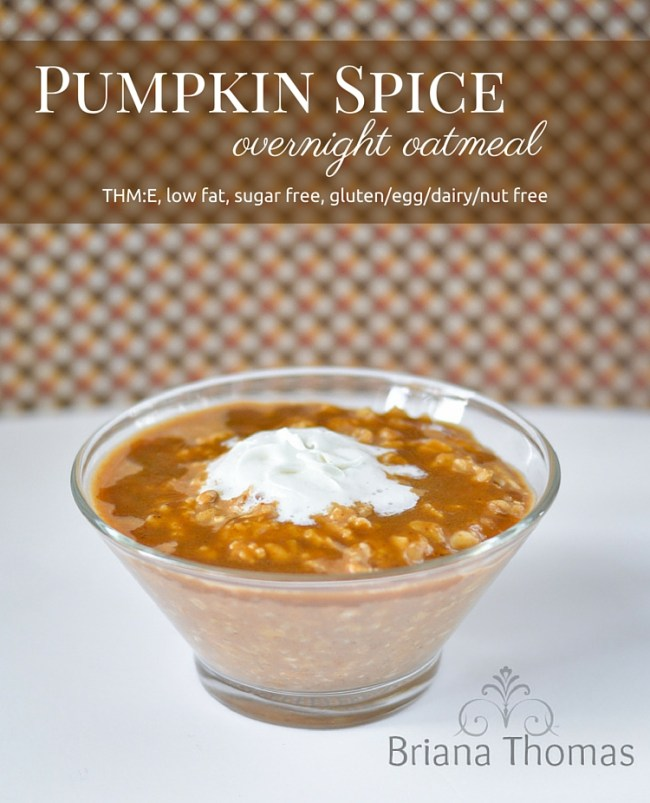 Pumpkin Spiced Oatmeal Recipes — Dishmaps