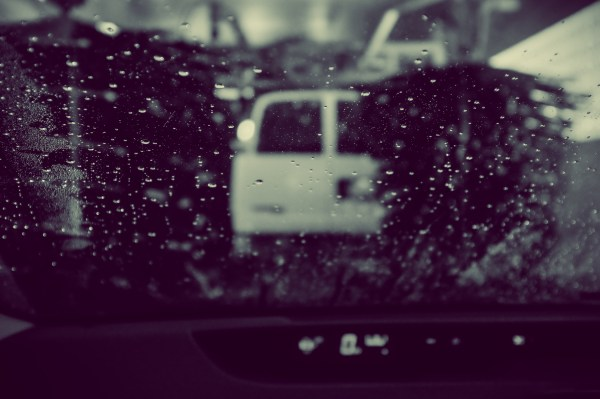 inside the carwash