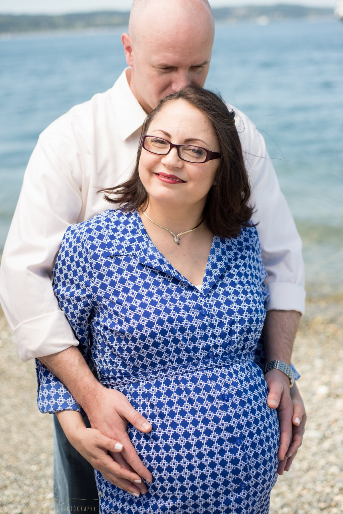 Mukilteo Lighthouse Maternity Session : The Wood Family