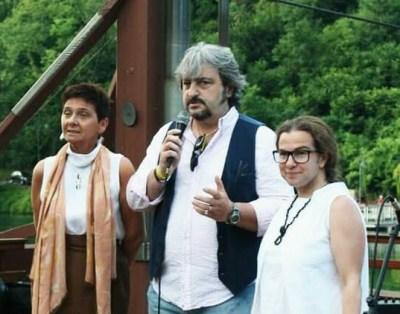 Antonella Cagliani (a sinistra) ed Elena Codara presentate da Carlo Gaeta