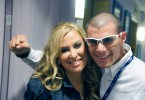 Anastacia con Andrea Catullè della International Artists Entertainment di Monza