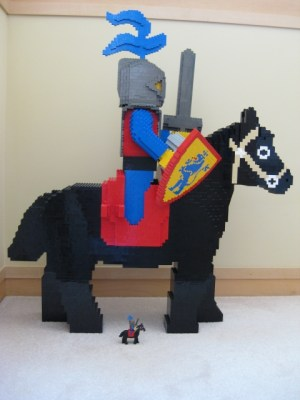 LEGO Giant Crusader Fig Horse