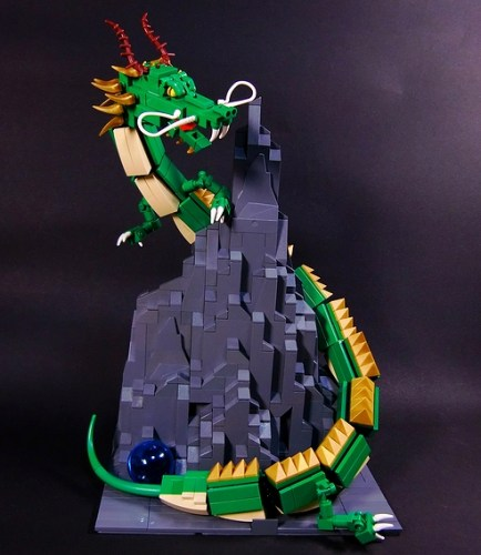 LEGO Chinese dragon