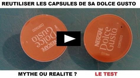 reutiliser les capsules DOLCE GUSTO KRUPS CIRCOLO mythe ou réalité ?