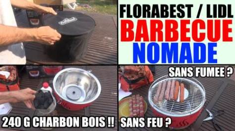 barbecue florabest lidl charbon de bois - ventilation active - charcoal barbecue holzkohlegrill flg 34 a1
