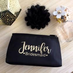 Robust Name Title Makeup Wedding Party Personalised Weddingparty Makeup Bridesmaids Gift Bridal Bling Exclusivelyweddingsweddingswedding Party Gifts Wedding Party Gifts Etiquette