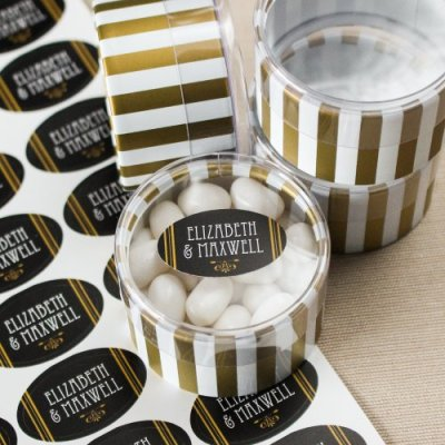 Personalized Oval Labels