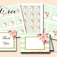 Free Mint Labels and Placecards