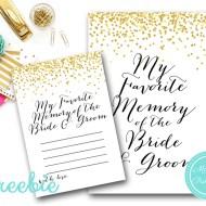 Free My Favorite Memory Card & Sign
