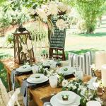 Outdoor Cowgirl Bridal Shower