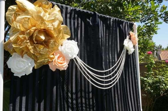 Floral-Kate-Spade-Inspired-Bridal-Shower-Photo-Backdrop