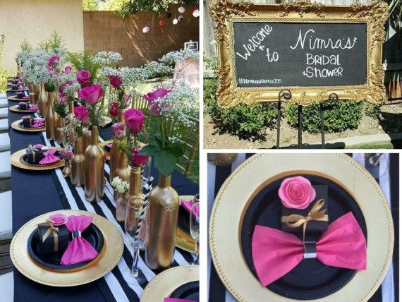 Floral Kate Spade Inspired Bridal Shower
