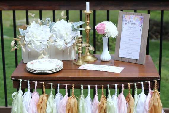 Garden-of-Romance-Bridal-Shower-Menu-Table