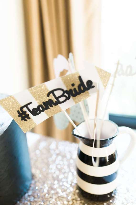 Golden-Glamour-Bridal-Party-Team-Flag