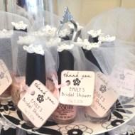 Bridal Shower Nail Polish Favor Tags