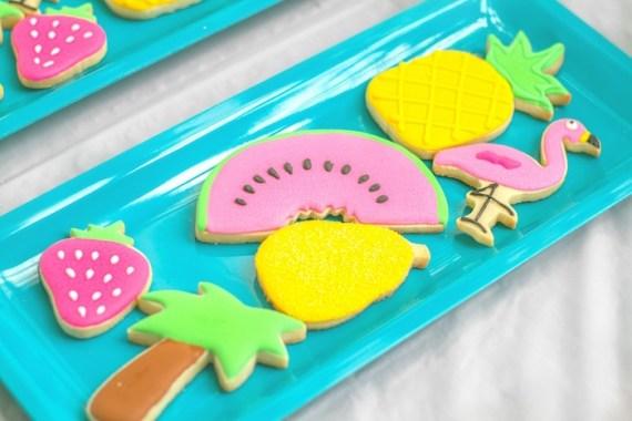 Pink-Tropical-Bridal-Shower-Sugar-Cookies