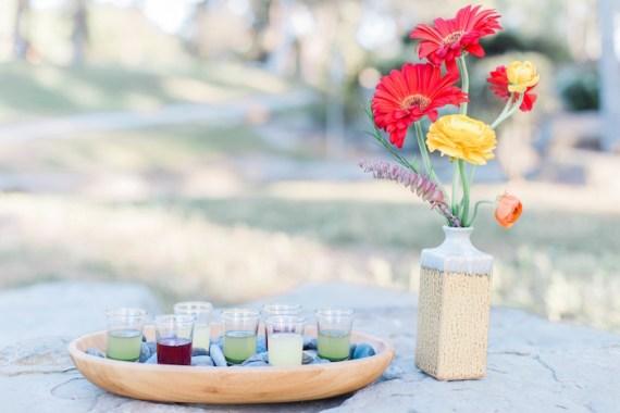 Colorful-Au-Natural-Bridal-Shower-Drinks