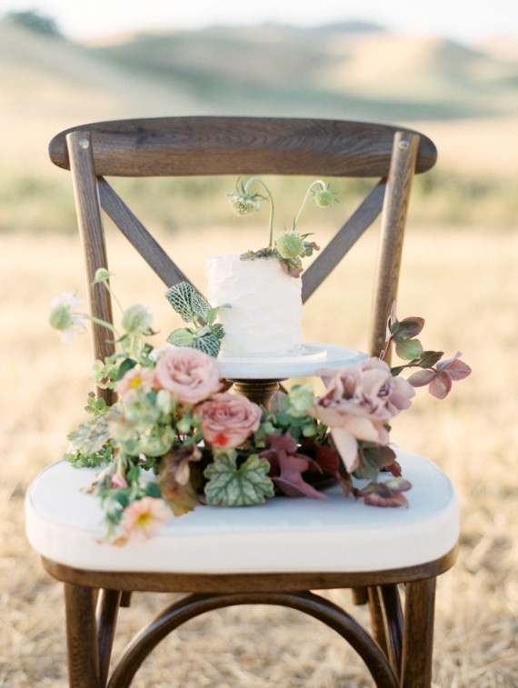 Dreamy Outdoor Bridal Shower chair